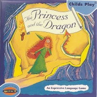 Cover image for The Princess and the Dragon Game