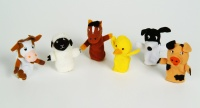 Cover image for Old Macdonald Animal Finger Puppets