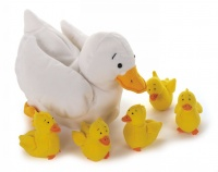 Cover image for Duck and Ducklings Set