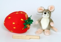 The Little Mouse, The Red Ripe Strawberry and The Big Hungry Bear Toy