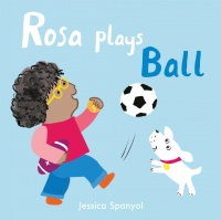 Cover image for Rosa Plays Ball