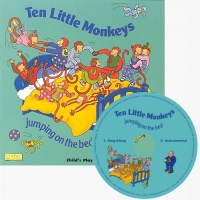 Cover image for Ten Little Monkeys