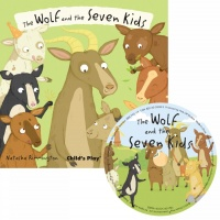 Cover image for The Wolf and the Seven Little Kids