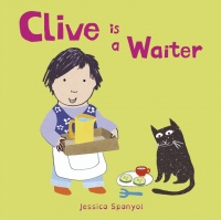 Cover image for Clive is a Waiter