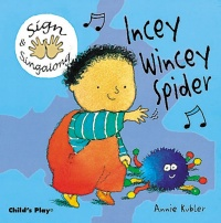 Cover image for Incey Wincey Spider