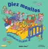 Cover image for Ten Little Monkeys (Spanish edition) 8x8