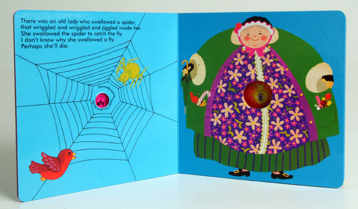 Classic Books With Holes Board Book : Old Lady Who Swallowed a Fly ...