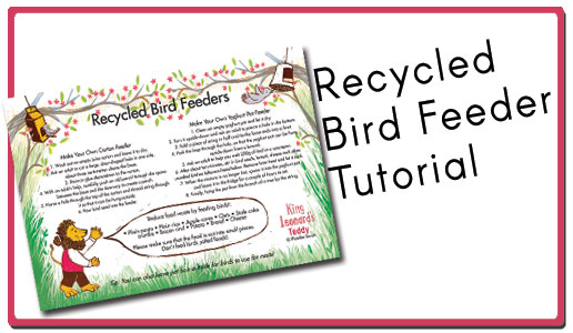 Click here to download the Bird Feeder tutorial