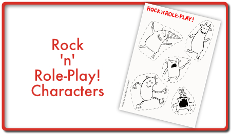 Rock and Role Play characters