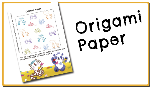 That's NOT How You Do It cute origami paper to print
